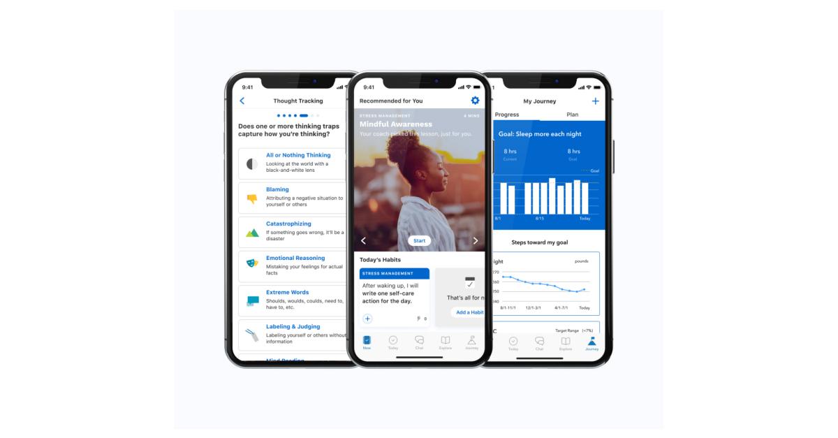 Vida Health iPhone.