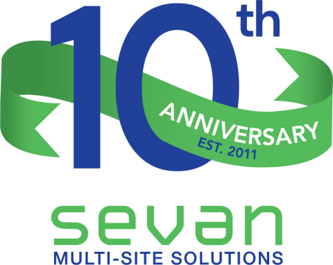 Sevan Multi-Site Solutions celebrates its 10th Anniversary. (Graphic: Business Wire)