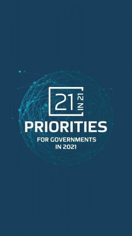 The new WGS report '21 Priorities for Governments in 2021' identifies five critical priorities in post-pandemic recovery (Photo: AETOSWire)