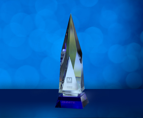Mouser Electronics received the 2020 Channel Partner of the Year award from Ohmite for successful sales of Ohmite's newest products. (Photo: Business Wire)