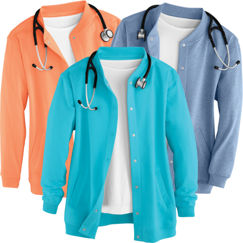 3 Fleece Jackets (Photo: Business Wire)