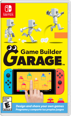 Have you ever dreamed of creating your own video game? That dream can become a reality with the Game Builder Garage software, launching exclusively for the Nintendo Switch system on June 11. With this new software, kids and parents and everyone in between can have fun learning to create and share their very own video games. (Photo: Business Wire)
