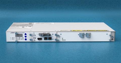 ADVAs FSP 3000 OLS spielte eine wichtige Rolle bei der Realisierung eines programmierbaren Metronetzes (Photo: Business Wire)
