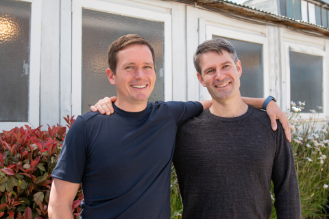 ReCharge co-founders Oisin O'Connor (CEO) and Mike Flynn (CTO) (Photo: Business Wire)