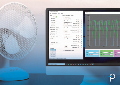 Power Integrations Introduces Software for Precise Control and Tuning of BridgeSwitch ICs in Single-Phase BLDC Motor Drives. New Motor-Expert IEC6730 Class A-ready software tackles new energy efficiency regulations for appliances. (Graphic: Business Wire)