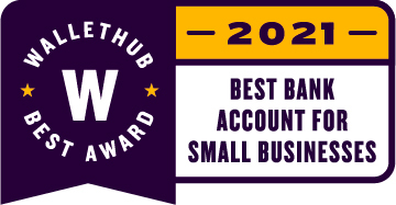 WalletHub editors have named Axos Bank's Business Interest Checking account America's Best Business Checking Account. (Graphic: Business Wire)