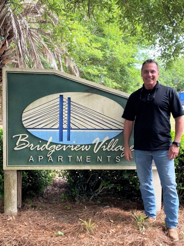 FTK Construction Services was awarded the LIHTC rehabilitation contract for Bridgeview Village Apartments in Charleston, SC. Pictured: Mark Frazier, COO of FTK Construction Services. (Photo: Business Wire