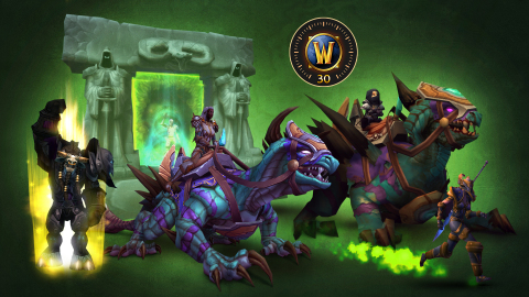 A treasure trove of in-game extras from the Deluxe Edition of World of Warcraft: Burning Crusade Classic (Graphic: Business Wire)