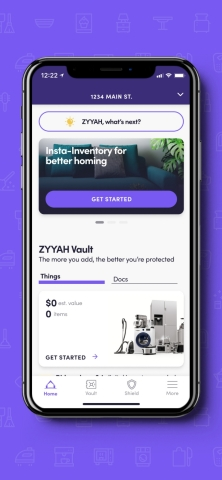 ZYYAH places the power of homeownership in the palm of its user's hand. The Dallas-based PropTech and Insurtech start-up is pioneering a hassle-free home experience with innovative digital aggregation for the home. (Photo: Business Wire)
