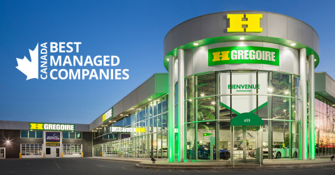 HGreg has been named a 2021 winner of the Canada's Best Managed Companies program, a national designation that recognizes companies that have excelled in areas of strategy, innovation, financials, culture and commitment to achieving sustainable growth. (Photo: Business Wire)