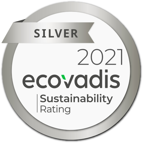 EcoVadis Silver Award (Photo: Business Wire)