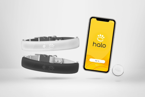 The Halo Collar Smart System (Photo: Business Wire)