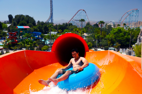 Six Flags Hurricane Harbor waterpark, located next door to Six Flags Magic Mountain, reopening May 15, 2021. (Photo: Business Wire)