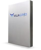 VillaGrid Home Battery - Delivered with a 20-year warranty, the VillaGrid is designed to be the safest, longest-lasting, most powerful and efficient battery on the market, with the highest lifetime usable energy and the lowest lifetime cost of ownership.  Visit Villara.com/VillaGrid (Photo: Business Wire)