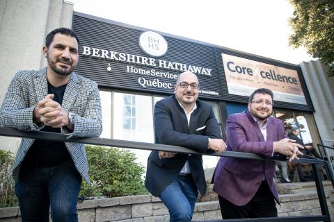 Berkshire Hathaway HomeServices Québec Leadership Team (Photo: Business Wire)