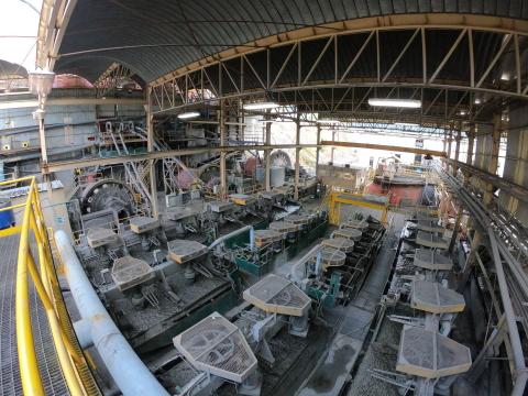 Image 1: Piedras Verdes Mill at Bolivar (Photo: Business Wire)