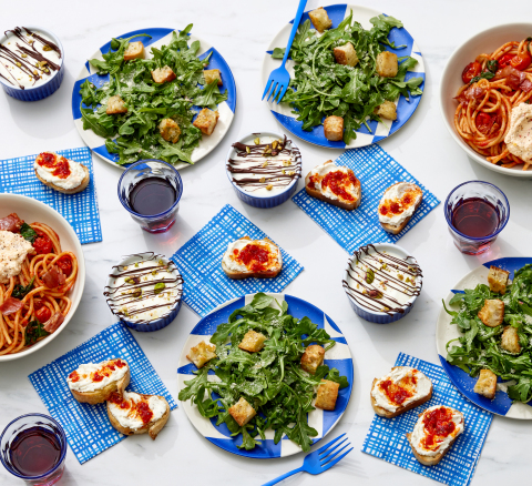 Blue Apron Add-ons are a great way to include an appetizer, side dish and dessert to a box each week. Add-ons include two to four servings per offering, adding more flexibility to weekly meals. (Photo: Business Wire)