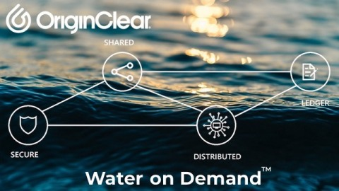 Using blockchain technology and non-fungible tokens (NFT) to simplify the distribution of payments on outsourced water treatment and purification services billed on a pay-per-gallon basis ahead of inflation. (Photo: Business Wire)