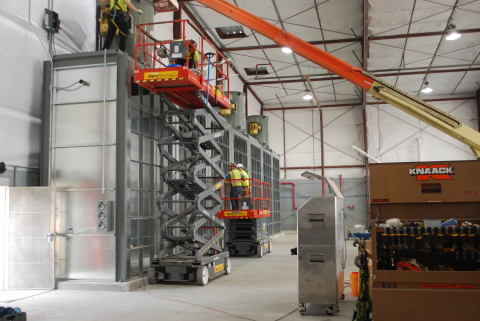 Enhanced ventilation technology making up part of the major improvements at Constant Aviation's aircraft painting operation at Orlando Sanford International Airport (ICAO: KSFB). (Photo: Business Wire)