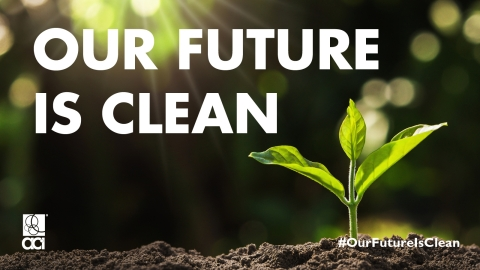 The American Cleaning Institute (ACI) is challenging companies in the cleaning product supply chain to align their corporate climate strategy and targets with the 1.5°C ambition, which strives to reach net-zero global emissions by 2050. (Photo: Business Wire)