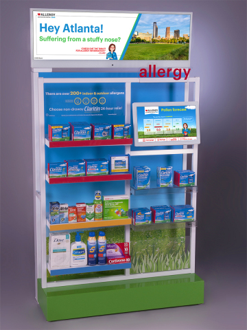 WestRock's display for Bayer won Display of the Year along with a Creative Award and a Gold Award at this year's Outstanding Merchandising Achievement (OMA) Awards. (Photo: Business Wire)