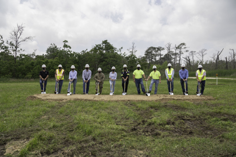 A groundbreaking ceremony held on May 3 marks the start of the Houston Ship Channel Project 11 expansion and widening construction program, a nearly billion-dollar infrastructure project. (Photo: Business Wire)