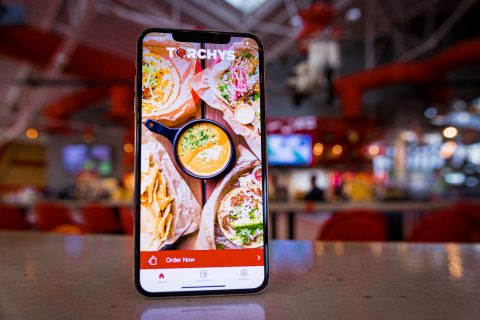 Get your Torchy's Tacos fix with just a tap: the new Torchy's App is here! Now available for iPhone and Android, the Torchy's app features fast, easy contactless ordering with saved, favorite orders, one-tap Apple Pay and more. (Photo: Business Wire)
