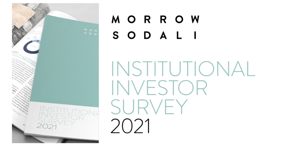 Climate Change Tops the Agenda for Institutional Investors in 2021 | Business Wire