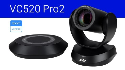 CAM520 Pro2 and VC520 Pro2 are now Zoom Certifed. (Photo: Business Wire)