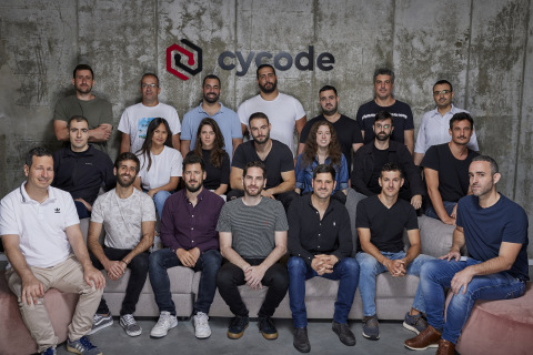 Cycode Raises $20 Million Series A Round From Insight Partners to Secure DevOps Pipelines and Prevent Code Tampering. Pictured: The Cycode Team (Photo: Business Wire)
