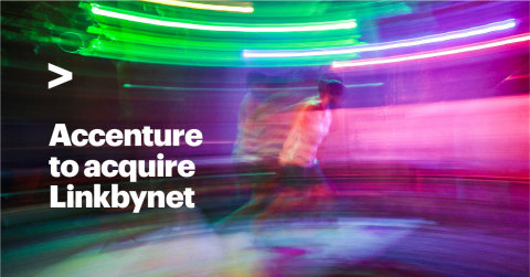 Accenture to acquire Linkbynet (Graphic: Business Wire)