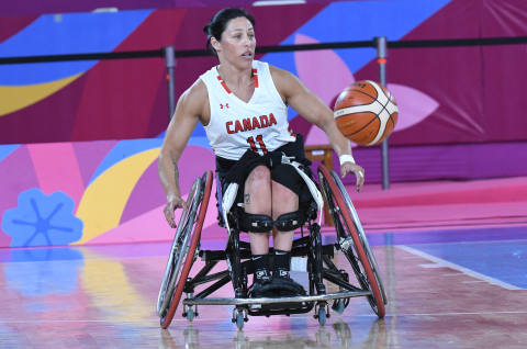 Tara Llanes. Tokyo 2020 hopeful and member of Canada's Women's National Wheelchair Basketball Team (Photo: Canadian Paralympic Committee).