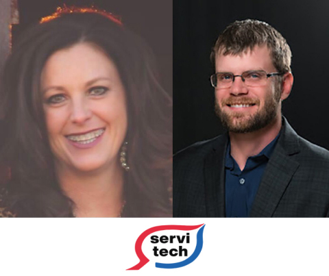 ServiTech announces appointments for Christi Werner and Mark Morten (Photo: Business Wire)
