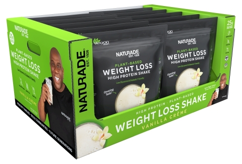 Naturade Plant-Based Weight Loss High Protein Shake is available in Costco locations throughout the US (view full list of locations at naturade.com/magic). (Photo: Business Wire)