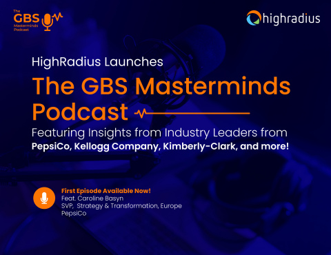 GBS Masterminds Podcast. (Photo: Business Wire)