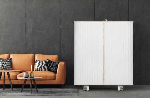Les postes de travail fonctionnels Evävaara sont conçus pour s'intégrer facilement à n'importe quel intérieur grâce à leur design harmonieux et moderne (photo : Business Wire)