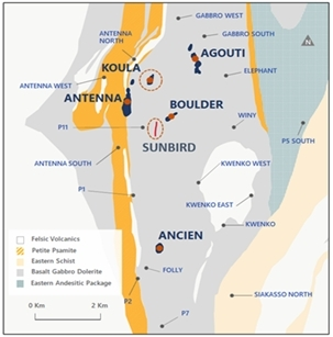 Figure 2. Séguéla location plan (Graphic: Business Wire)