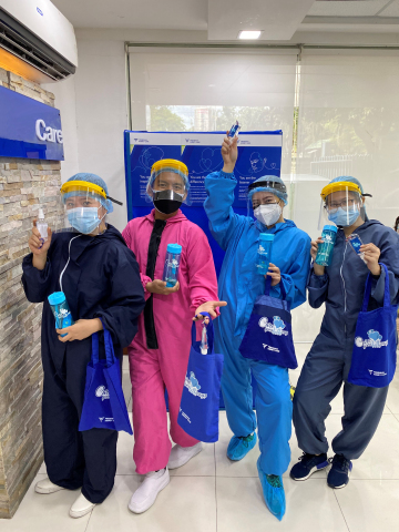 Nurses and clinical teams throughout Asia Pacific, Europe, Middle East and Africa celebrate with the 'Care goes both ways' campaign on International Nurses Day. (Photo: Business Wire)