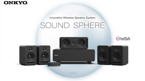Onkyo SOUND SPHERE with WiSA SoundSend (Photo: Business Wire)