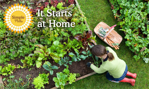 Simple Mills Will Help Foot Your Bill to Start an Organic Garden at Home (Photo: Business Wire)