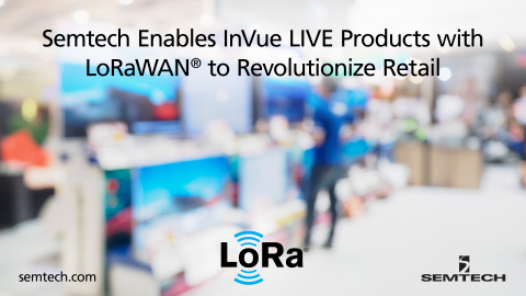 InVue LIVE  retail products leveraging the LoRaWAN® protocol improve retail profitability and security (Photo: Business Wire)
