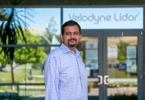 Velodyne Lidar CEO Anand Gopalan will speak on intelligent infrastructure and the convergence of connected and autonomous vehicles at the Smart Infrastructure & Energy Week online event. Gopalan will discuss how this convergence, powered by lidar hardware and software, can drive autonomous solutions that advance safe, sustainable and accessible transportation and smart communities. (Photo: Velodyne Lidar)