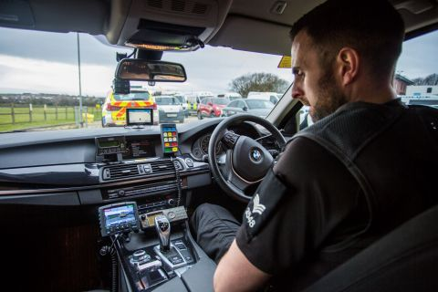Motorola Solutions' 4RE In-Car Video Solutions (Photo: Business Wire)