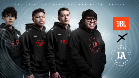 JBL Extends Partnership with 100 Thieves, Signs LA Thieves and Continues Relationship with Top Streamers (Photo: Business Wire)