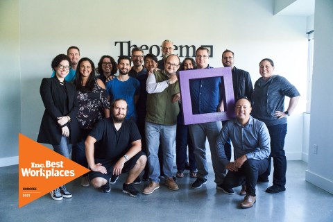 Designed from the ground up for distributed collaboration, Theorem's team is spread across twenty-two states and fourteen countries worldwide. (Photo: Business Wire)