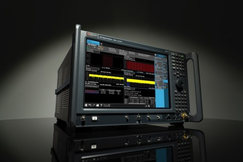 Keysight's new N9042B UXA X-Series signal analyzer provides wide analysis bandwidth and deep dynamic range to help customers solve their most difficult mmWave challenges. (Photo: Business Wire)