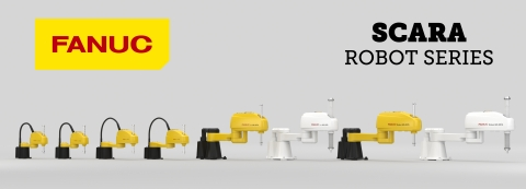 All of FANUC's SCARA robots include superior robot motion, high-speed operation and ultimate precision.