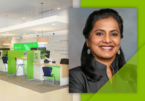 Regions Bank Chief Operations and Technology Officer Amala Duggirala is one of 50 business leaders named in Forbes' inaugural 'CIO Next 2021' list. (Photo: Business Wire)