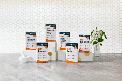 Genestra Brands® is excited to announce the official launch of their shelf-stable HMF® Probiotic line. (Photo: Business Wire)