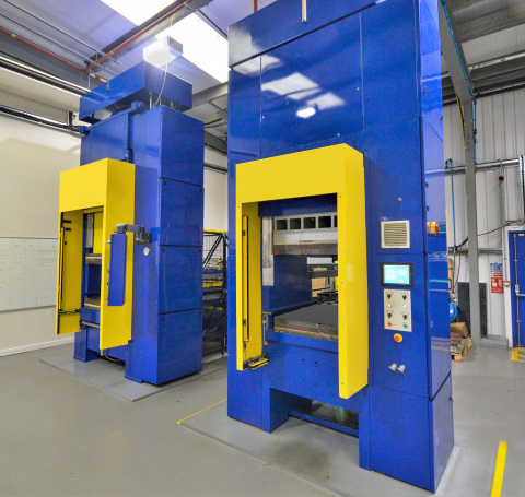 Teledyne CML Thermoplastic Press (Photo: Business Wire)